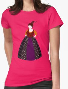 Hocus Pocus- Mary Sanderson Womens Fitted T-Shirt