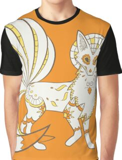Ninetails Pokemuerto | Pokemon & Day of The Dead Mashup Graphic T-Shirt
