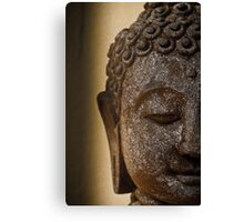 Buddha Head Canvas Print