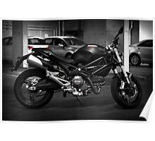 Ducati Monster 659 Poster
