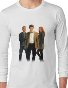 The Doctor and The Ponds Long Sleeve T-Shirt