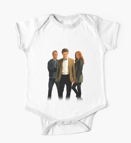 The Doctor and The Ponds One Piece - Short Sleeve