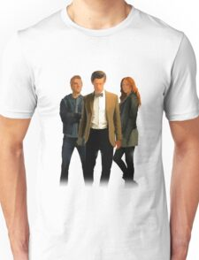 The Doctor and The Ponds Unisex T-Shirt