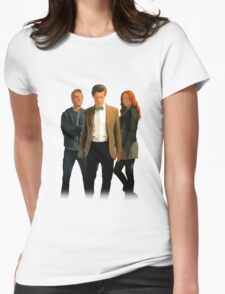 The Doctor and The Ponds Womens Fitted T-Shirt