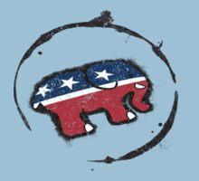 Republican Elephant Grunge Kids Clothes