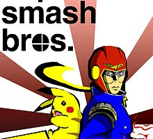 Super Smash Brothers by Patrick Sluiter