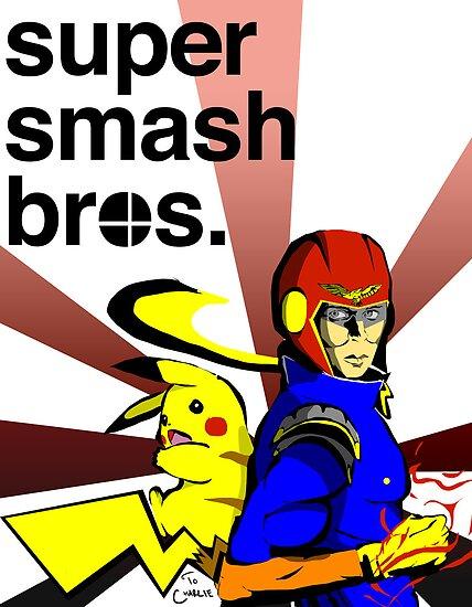 Super Smash Brothers by Patrick Sluiter