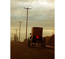 Welcome to Amish Country Photographic Print