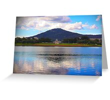 Mt Ainslie Landscape Greeting Card