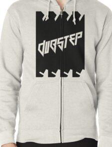 DUBSTEP (VICTORY) BLACK Zipped Hoodie
