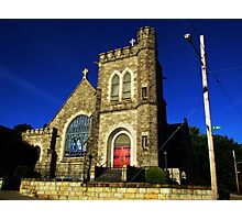 Downtown Church Photographic Print