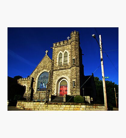 Downtown Church Photographic Print