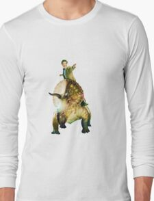 Dinosaurs On A Spaceship Long Sleeve T-Shirt