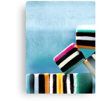 liquorice sea sculpture I Canvas Print
