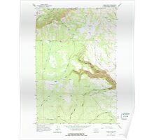 USGS Topo Map Washington State WA Camas Patch 240308 1965 24000 Poster