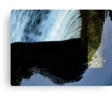 Reflective Waterfall Canvas Print