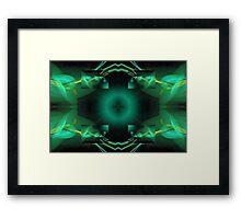 Fractal Abstract Framed Print