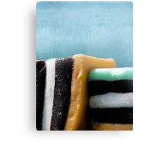 liquorice sea sculpture III Canvas Print