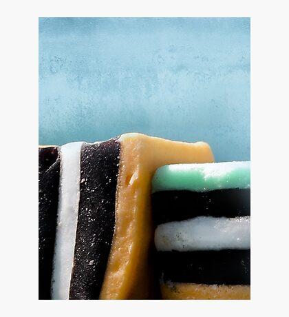 liquorice sea sculpture III Photographic Print