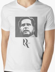 Politics: Mitt Romney Mens V-Neck T-Shirt