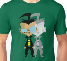 boy and shadow Unisex T-Shirt