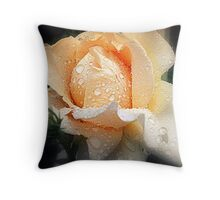 As Tears Go By Throw Pillow