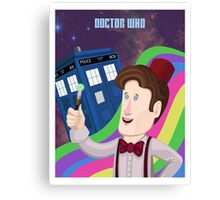 Doctor Who Returns! Canvas Print