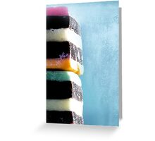 liquorice sea sculpture VI Greeting Card