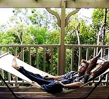 Paul in a hammock by pauldrobertson