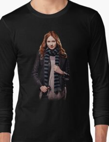 Amy Pond - The Girl Who Waited Long Sleeve T-Shirt