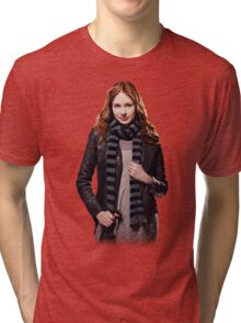Amy Pond - The Girl Who Waited Tri-blend T-Shirt