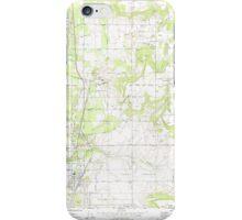 USGS Topo Map Washington State WA Mead 242270 1973 24000 iPhone Case/Skin