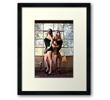 twins Framed Print