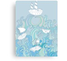 Keep floating! Canvas Print