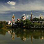 Novodevichy Convent by Irina Chuckowree