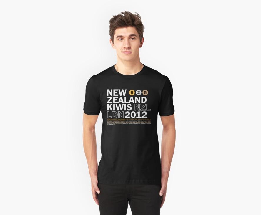 Team New Zealand 2012 by Matt Burgess