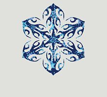 Frozen Snowflake Womens Fitted T-Shirt
