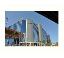 The Jumeirah Hotel, Dubai Art Print