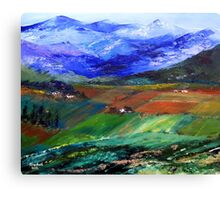My beloved country Canvas Print