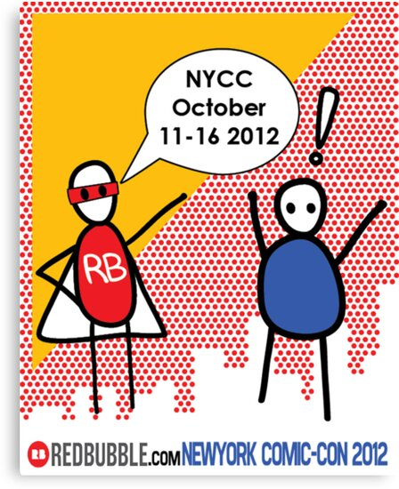 Exclamation Man goes to NYCC by Yentuoc