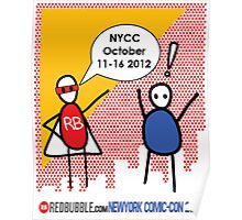 Exclamation Man goes to NYCC Poster