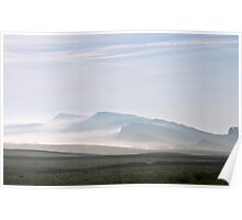 Hadrian's Wall from Blake Law Poster