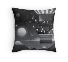 The globe Throw Pillow