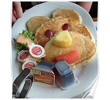 Breakfast Pancakes Poster