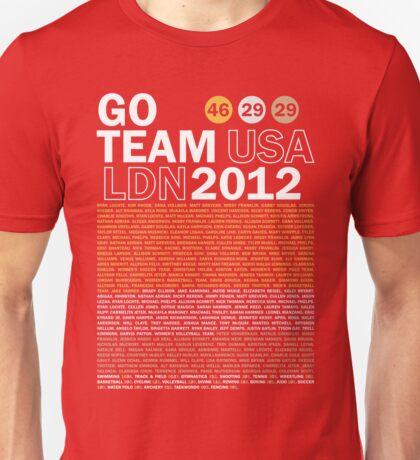 Team USA 2012 Unisex T-Shirt