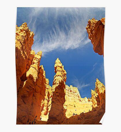 The Navajo Trail at Bryce Canyon Poster