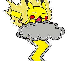 Pikachu Storm by nsvtwork