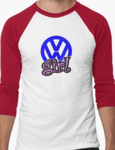 VW Girl Men's Baseball ¾ T-Shirt