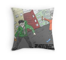 The big windy Southern states of late August 2012 Throw Pillow