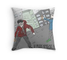 Les grands vents aux Sud des Etats-Unis en fin d'Aout 2012 Throw Pillow
